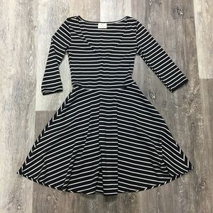 Urban Outfitters striped skater dress, size XS.